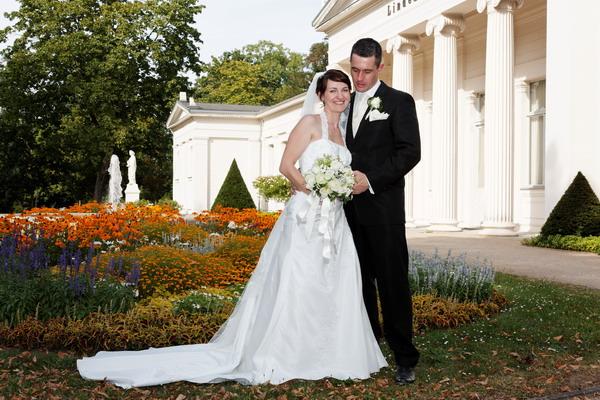 Hochzeitsfotos im Solepark Salzelmen