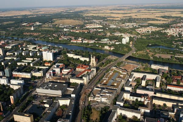 Fotograf zeigt Magdeburg - Magdeburg aus der Luft_08