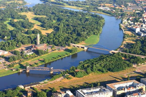 Fotograf zeigt Magdeburg - Magdeburg aus der Luft_11